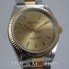 Rolex Oyster Perpetual Or et Acier Certificat Rolex + Boite 14233