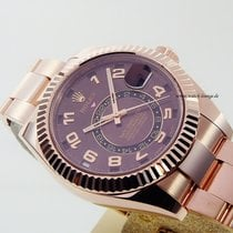 Rolex Sky-Dweller Everrosegold LC 100 perfect condition