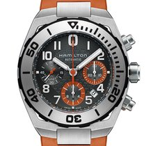 Hamilton Men's H78716983 Khaki Navy Sub Auto Chrono Watch