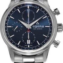 Alpina Geneve Alpiner Chronograph AL-750N4E6B Herren Automatik...