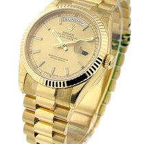 Rolex Unworn 118238 Mens Yellow Gold Day - Date President with...