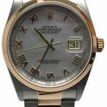Rolex Men's Datejust Two-tone Mother Of Pearl Dial Watch...