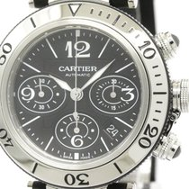Cartier Polished Cartier Pasha Seatimer Chronograph Automatic...