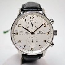 IWC Portuguese Chronograph Never Polished
