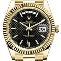 Rolex Day Date 40mm Yellow Gold Russian Calendar