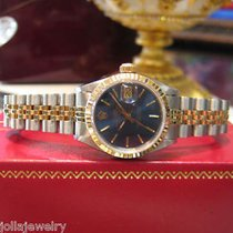 Rolex Datejust Two-tone 18k Yellow Gold Watch