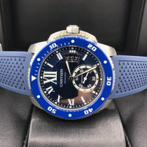 Cartier Calibre Diver Stainless Steel Blue Dial WSCA0011