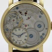 "Thomas Ninchritz ""Vice Versa"" Gold plated case. Exhibition model"