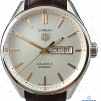 TAG Heuer Carrera Calibre 5 Day-Date Automatik 41mm WAR201D.FC...