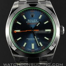 Rolex Milgauss Blu Dial 116400GV