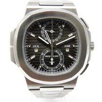 Patek Philippe 5990 Nautilus Chronograph Travel Time Edelstahl