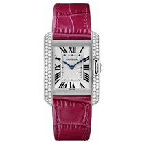 Cartier Tank Anglaise Automatic Mens Watch Ref WT100030