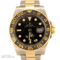 Rolex GMT Master II 116713LN Stahl / Gold Papiere 02/2013 LC100