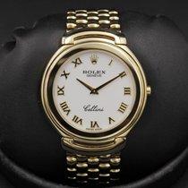 Rolex Cellini - Full Size - Model 6663 - 36mm - White Roman...