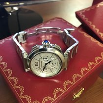 Cartier Pasha 42 mm Chronograph Steel