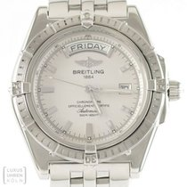Breitling Uhr Headwind Day-Date Edelstahl Automatik Ref....