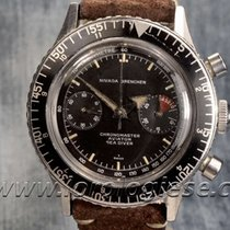Nivada Grenchen Chronomaster Aviator Sea Diver Vintage...