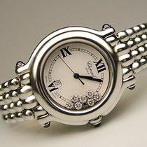 Chopard Happy Sport Medium Uhr mit 7 Brillanten ca. 0,35ct