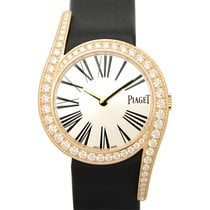 Piaget Limelight 18 K Rose Gold With Diamonds Silver Manual...