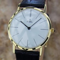 Ebel Rare 18k Gold Swiss Made 32mm Watch With Solid 14k Gold...