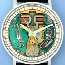 "Bulova ""Accutron Space View"" Strapwatch."