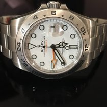 Rolex Oyster Perpetual Explorer II Ref. 216570 white