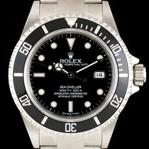 Rolex S/Steel Unworn Black Dial Sea-Dweller NOS Gents B&P...