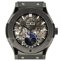 Hublot Classic Fusion Aerofusion Moonphase Skeleton Dial