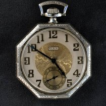 Elgin 14K Gold Octagon Pocket Watch