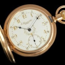 Howard 1883 E. Howard & Co. Antique 18 Size Pocket Watch -...