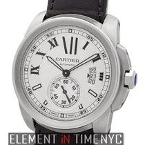 Cartier Calibre Collection Calibre Stainless Steel Silver Dial