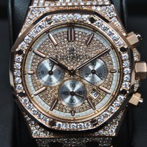Audemars Piguet Royal Oak Offshore Gold and Diamonds/Setting
