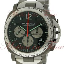 Panerai Luminor Chronograph Automatic for AMG, Black Dial,...
