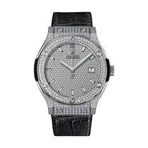Hublot Classic Fusion 42mm Automatic Titanium Mens Watch Ref...