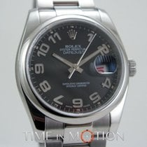 Rolex Oyster Perpetual Datejust 116200 Noir Concentrique Full Set