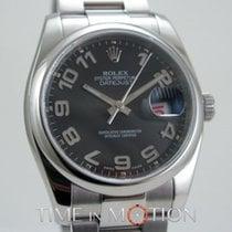 Rolex Oyster Perpetual Datejust 116200 Noir Concentrique Full Set
