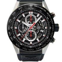 TAG Heuer Calibre HEUER 01 Automatic Chronograph Black...