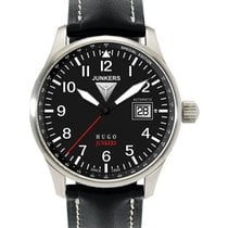 Junkers Hugo 6650-2 Watch Swiss Eta Auto Movement Big Date 50m...