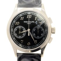 百達翡麗 (Patek Philippe) Complications 18k White Gold Black...