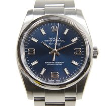 Rolex Oyster Perpetual Stainless Steel Dark Blue Automatic 114200
