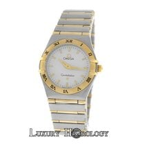 Omega Authentic Ladies  Constellation 25mm Full Bar 18K Gold