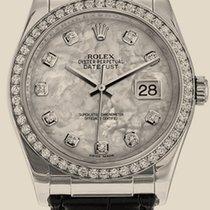 Rolex Datejust 36mm White Gold