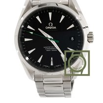 Omega Seamaster Aqua Terra Golf green seconds black dial steel