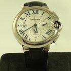 Cartier Ballon Bleu :C:hronograph  White Gold
