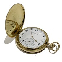 Vacheron Constantin Savonette Vintage Pocket Watch Gold 18kt
