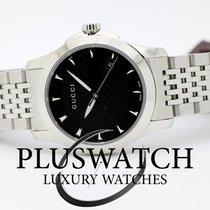 Gucci G-Timeless Black Dial YA126502 T