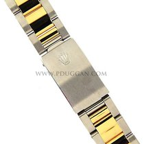 Rolex 18k yellow gold and stainless steel Oyster bracelet