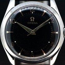 Omega Black Dial Handaufzug Kaliber 420 aus 1950