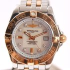 Breitling Ladies Galactic 32 Stahl/Rot Gold