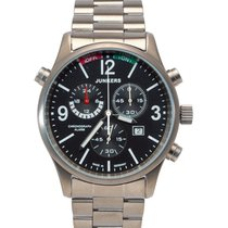 Junkers World Flight Records G38 6296m-2 Quartz Watch Swiss...